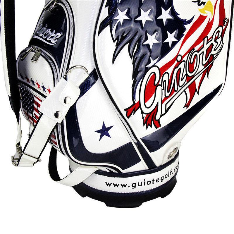 Professional Golf Tour Staff Bag USA American Eagle /w Rain Hood