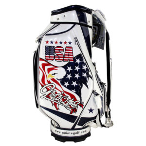 Professional Golf Tour Staff Bag USA American Eagle /w Rain Hood