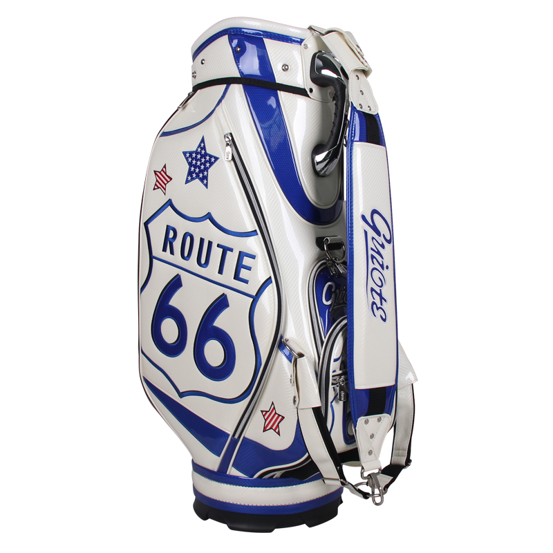 Professional Golf Tour Staff Bag Route 66 W Rain Hood
