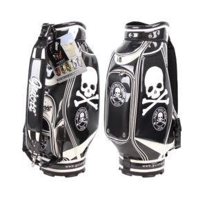 Professional Golf Tour Staff Bag Skull /w Rain Hood
