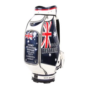 Professional Golf Tour Staff Bag Australia /w Rain Hood
