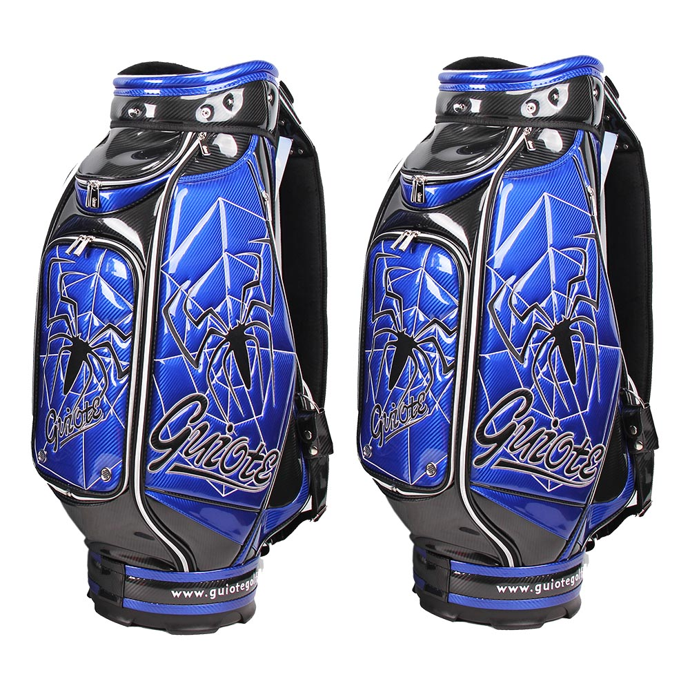 staff-bags-pro-tour-golf-club-caddy-sport-bag-with-blue-spider-rear-panel-view